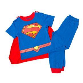 PijamaConCapabebeninoSuperman-azul-90609