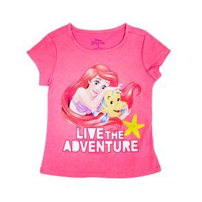 CamisetaNiñaPrincesas-fucsia-228545