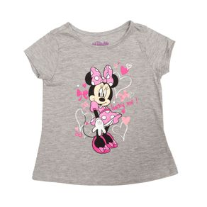 CamisetaBebeNinaMinnie-Gris-90525