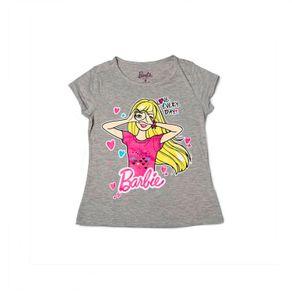 CamisetaNinaBarbie-Gris-229745