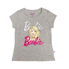 CamisetaNiñaBarbie-gris-228487