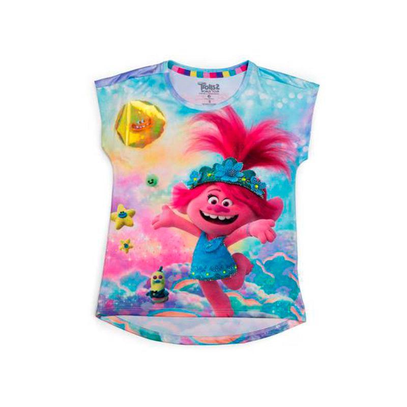 CamisetaNinaTrolls2-ROSA-232340