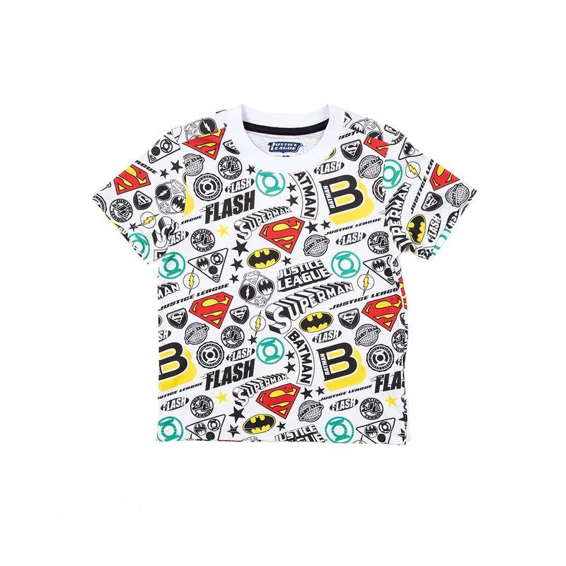 camiseta-niño-justice-league